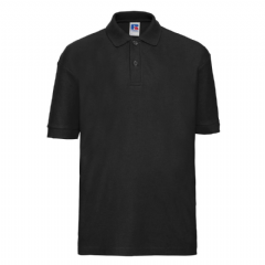 THURSO HIGH SCHOOL BLACK POLO SHIRT WITH LOGO